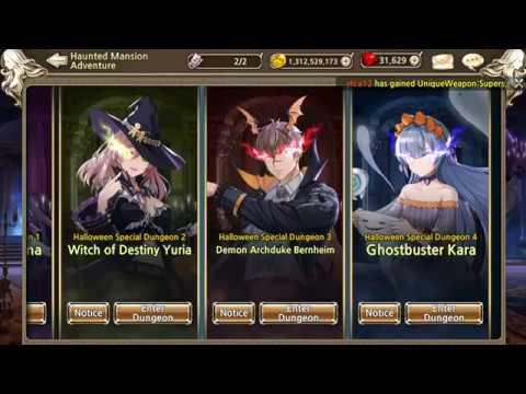 Kings Raid 2020 Halloween Event Help King's Raid] Halloween Event 2019   Special Dungeon 3 Demon