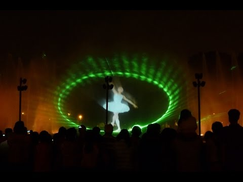 Belgaum karnataka Fountain video with amazing laser effects