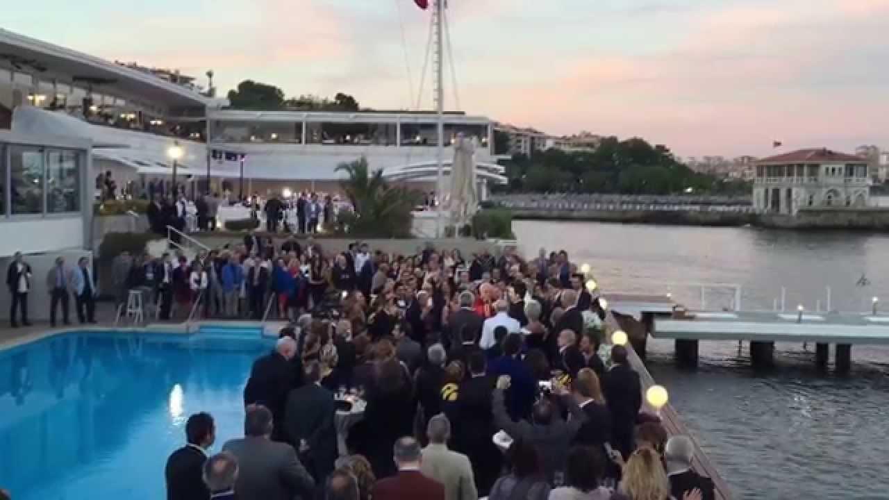 Tuğyan Yıldız & Cem Altanın Düğünü @ModaDenizKulübü - YouTube