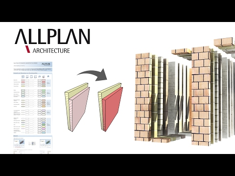 CAD / BIM-Software Allplan Architecture: SwissEdition 2017