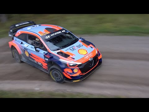 Ott Tänak WRC Finland 2021 Test