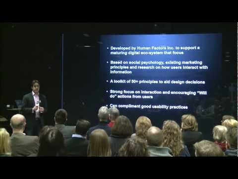 """Jamie Clouting and Chris Bush, Introducing (PET™) Design Theory; """"Persuasion, Emotion and Trust"""""""