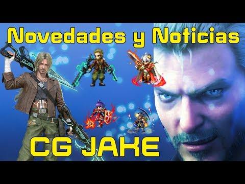 Final fantasy brave exvius:Novedades y Noticias/ Llega CG JAKE