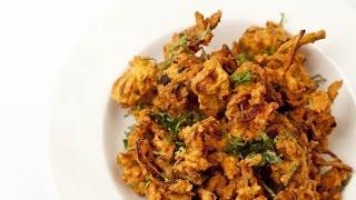 Onion and Mushroom Bhajis