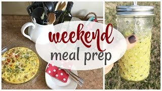 Weekend Meal Prep | 3 Recipes For The Week