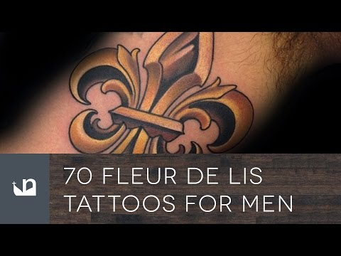 70 Fleur De Lis Tattoos For Men