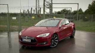 Tesla Model S Performance im Test | Autotest 2013 | ADAC