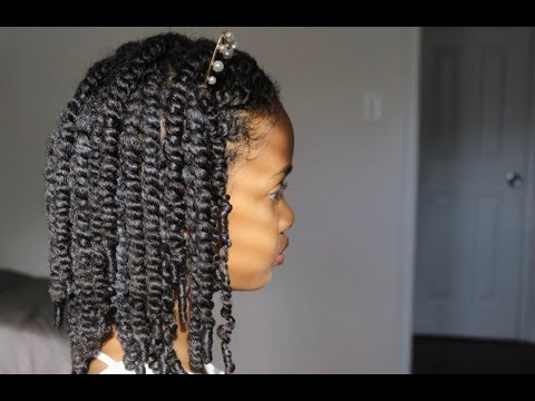 passion-twists-on-natural-hair-|-no-added-hair-|-protective-styling
