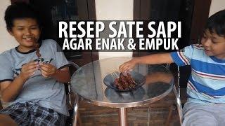 Resep Sate Sapi agar Enak & Empuk