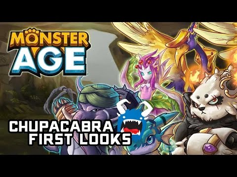 Monster Age Mobile Preview - Battle And Evolve Monsters (Chupacabra First Looks)