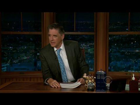 Late Late Show with Craig Ferguson 4/9/2012 Billy Gardell, Ian Gomez