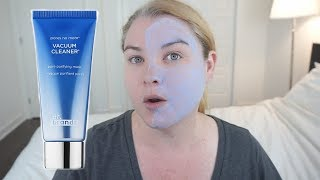 Dr Brandt Pores No More Vacuum Cleaner Pore Purifying Mask Review Youtube