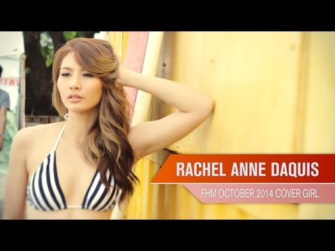 Rachel Anne Daquis - FHM Cover Girl October 2014