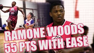 Ramone Woods MAKES DROPPING 55 Pts Look Easy