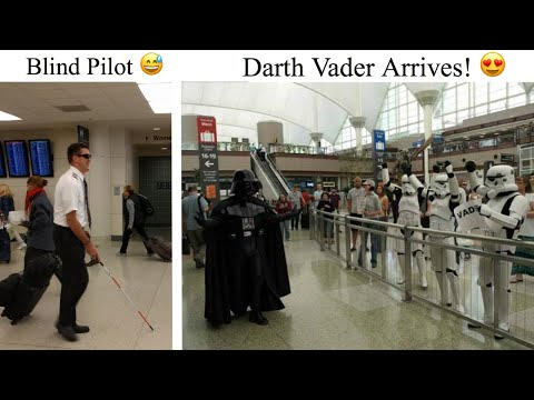 Unexpected Airport Sightings That May Make You Chuckle