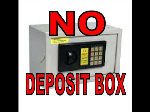 No safe deposit box in your room? Then why not make one !