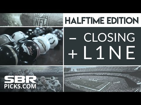 Live Betting | Halftime Betting Recap & Preview of PM NFL games | Free NFL Picks : The Closing Line