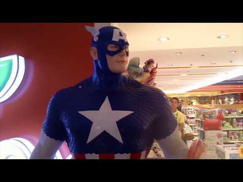 Marvel - Captain America - Life Size Statue at Toy Kingdom - Roylan's Toy Review