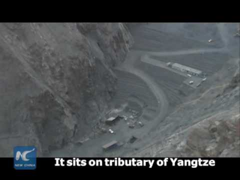 3,000m above sea level! Biggest hydropower plant in China's Tibetan area being built