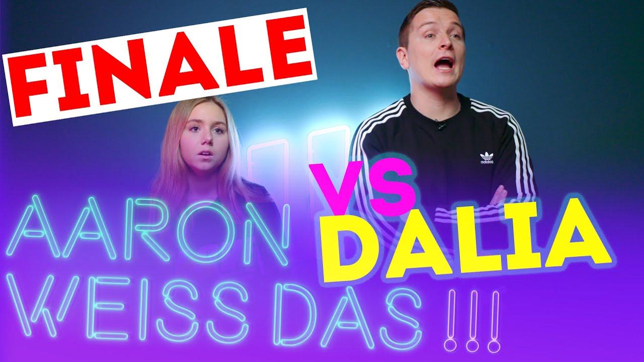 TikTok Dalia duellieren! DAS FINALE | Aaron weiss das!!!