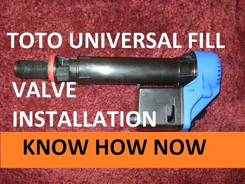 How to Replace a Toto Universal Fill Valve