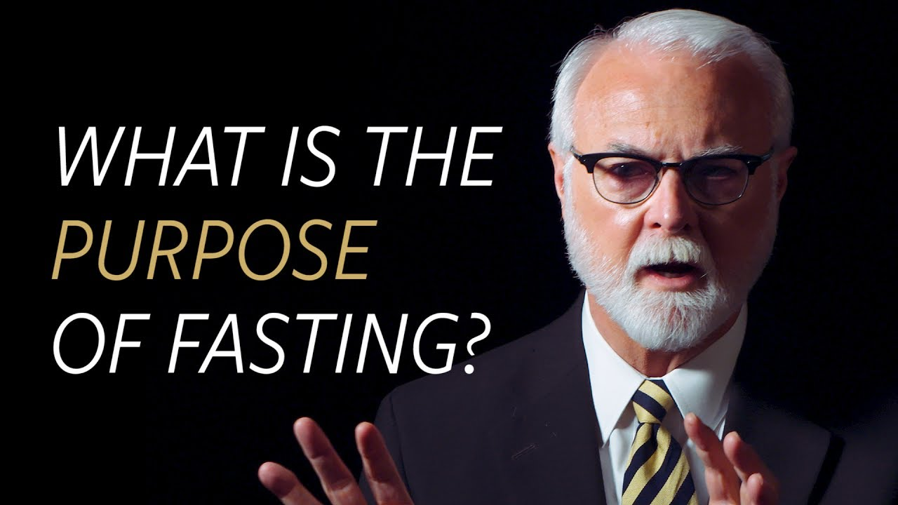 What is the purpose of fasting?