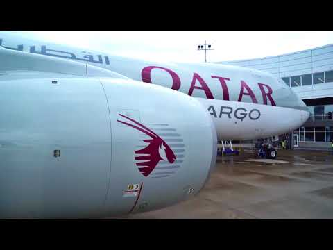 Delivery of Qatar Airways