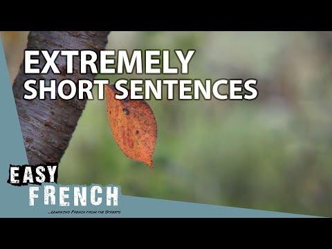 Tiếng Pháp bài 22