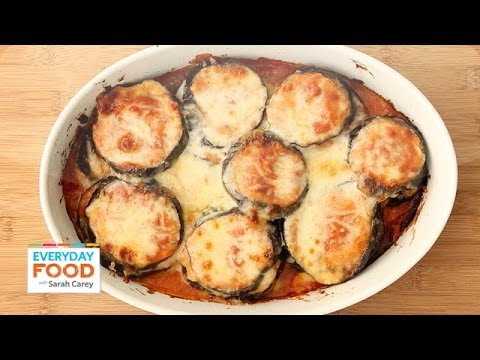 Lighter Eggplant Parmesan Everyday Food with Sarah Carey
