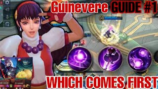 Guinevere Guide 1 | H๐w to Use Guinevere Properly | Emblem set | Guinevere Gameplay | Mlbb