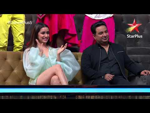 Dance+ 5   Rupesh Bane And Tiger Shroff Dancing