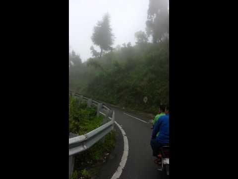 Mussorie on bike