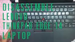 How to take apart/disassemble Lenovo Thinkpad Edge E420 laptop