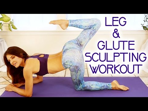 Butt & Leg Sculpting Workout For Women 20 Minute Toning At Home w/ Tara