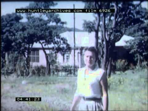 Home Movie in Africa, 1950's - Film 6926