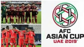 Thailand vs China match ; Afc asian cup 2019