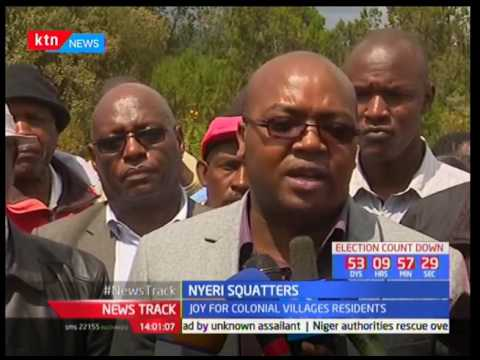 Process of issuing titles kick-off, Nyeri squatters