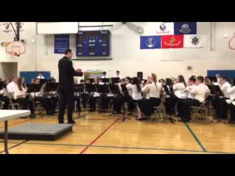 Minooka junior high school band competition