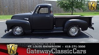 1952 Chevy 3100 for sale at Gateway Classic Cars STL