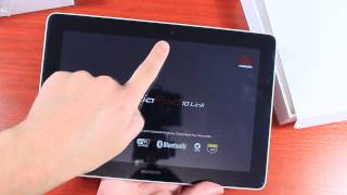 Huawei MediaPad 10 Розпакування