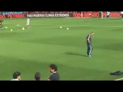 Messi ya avisó a Colombia desde el calentamiento