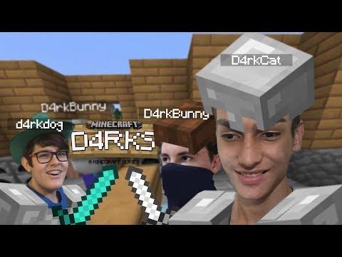 O QUARTO DEBAIXO DA ESCADA! | Minecraft: D4RKS - Part. 3 (Ft. Gabriel Rinaldi E Vinícius Colucci)