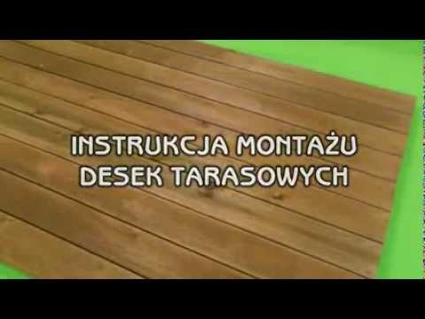 Instrukcja Montażu Desek Tarasowych