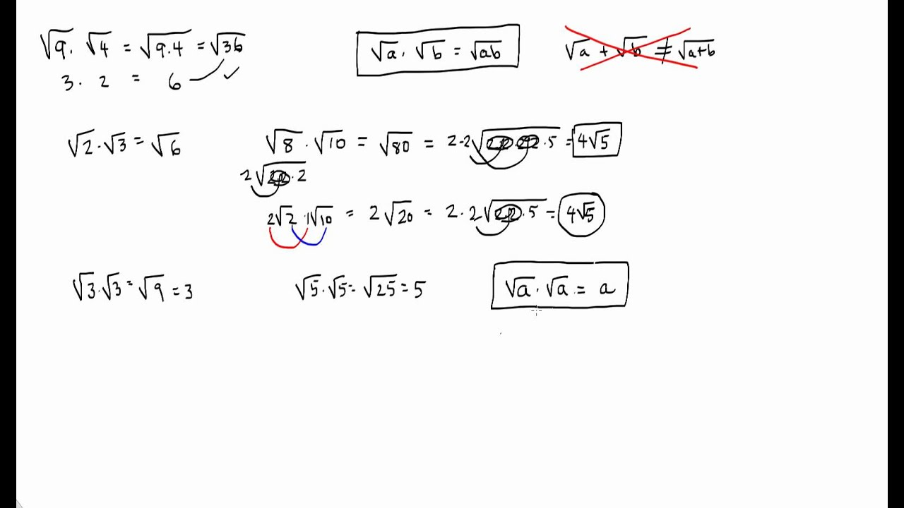Multiplication Of Radicals Worksheet With Answers ...