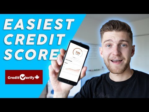 Credit Verify Review 2019 Canada | How To EASILY Check Credit Report & Score Online