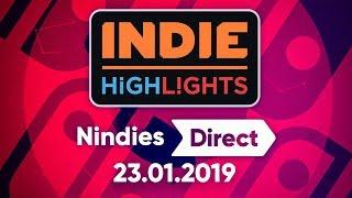 🔴NINDIES DIRECT 23.01.2019 | DIRECTO EN ESPAÑOL | INDIE HIGHLIGHTS NINTENDO SWITCH