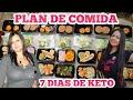 MENÚ SEMANAL PARA DIETA KETO/PIERDE PESO RÁPIDO DIETA 2021/MEAL PREP/PLAN DE COMIDA LOW CARB #6