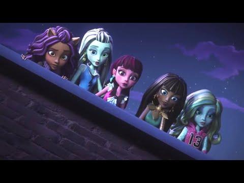 Monster High™ 💜⚡️Humans Fear the Dark   Electrified   Cartoons for Kids