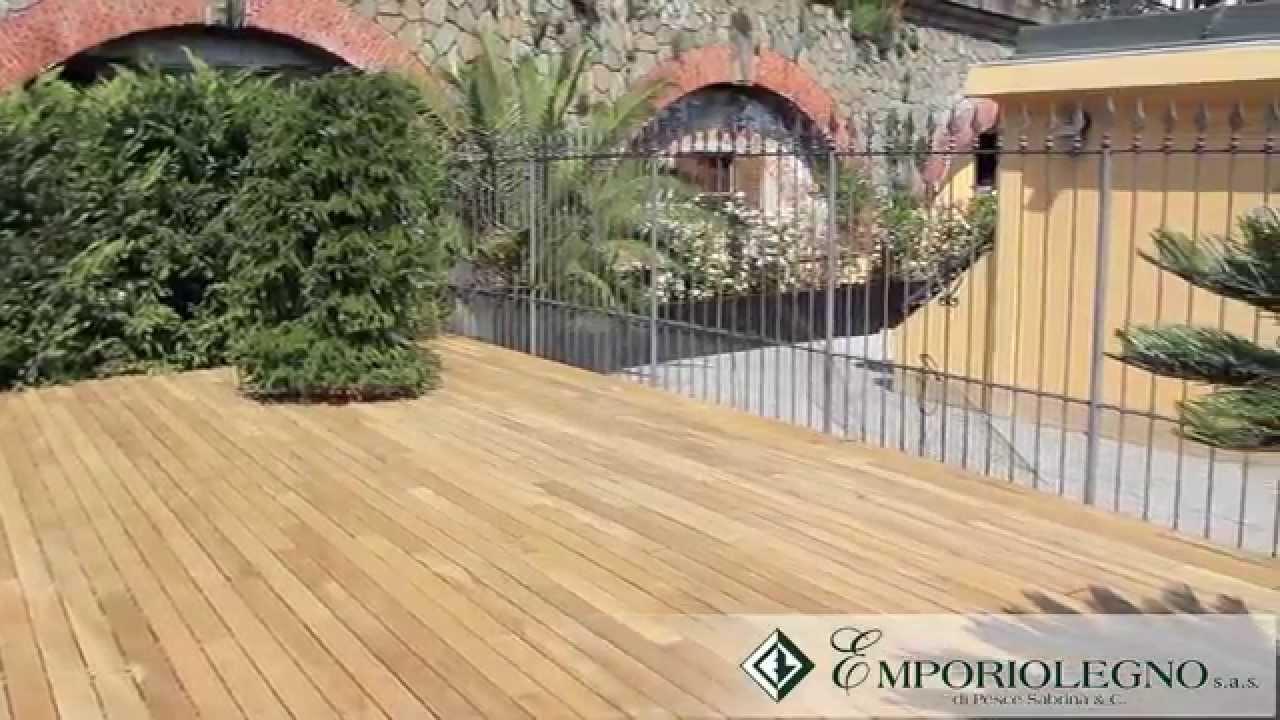 Emporio legno parquet per esterni youtube - Legno per esterni ...