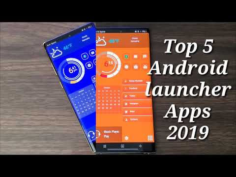 Best 5 Android Launcher Apps 2019